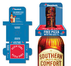 Mix Southern Comfort With Pizza Box Neck Tag For Southern Comfort On Behance