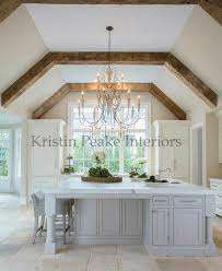 vaulted kitchen ceiling ideas elegant kitchen with vaulted ceilings lined with rustic wood beams