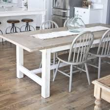 fixer upper dining table fixer upper diy style 101 free diy furniture plans