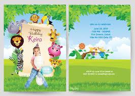 birthday invitations cards cloveranddot