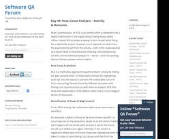 135 software quality assurance tips tools tutorials blogs and