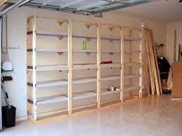 Wooden Storage Shelves Diy by Regain Lost Space In Your Garage Wooden Shelves Shelves And