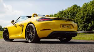 yellow porsche boxster 2017 porsche 718 boxster s review faultless fantastic and very fast