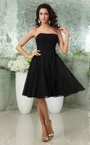 black bridesmaid dresses classic design