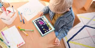 Kid At Desk by Lenovo Tab 4 Plus 10