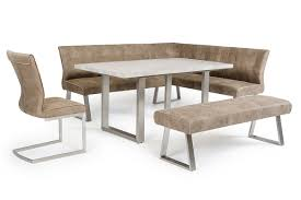 monty modern stone grey extendable dining table