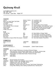 child actor resume sample audition resume format dalarcon com coloring coloring pages resume for kids dalarcon com