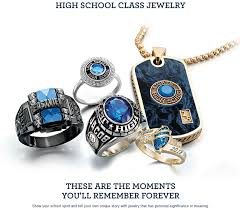 high school class jewelry grad rings comp commencement and grad