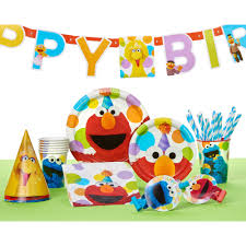 elmo birthday elmo birthday party banner party supplies walmart