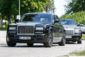 roll royce london new rolls royce phantom test mule spied auto express