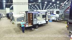 expandable rv floor plans dutchmen aerolite expandable 174e youtube
