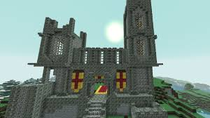 the castle from fallen kingdom creative mode minecraft java