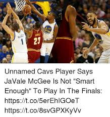 Javale Mcgee Memes - olde 35 rrior james 29 unnamed cavs player says javale mcgee is not