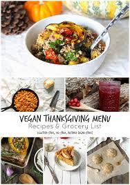 vegan thanksgiving recipes grocery list the plant philosophy
