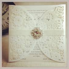 Personalised Wedding Invitation Cards Top Collection Of Wedding Invitations With Lace Theruntime Com
