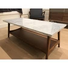 west elm reeve coffee table west elm reeve mid century rectangular coffee table aptdeco