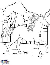 horses u2013 coloring pages u2013 original coloring pages