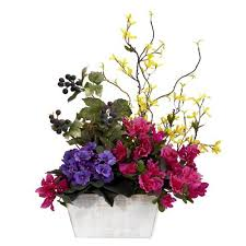 artificial floral arrangements floral arrangements artificial amazon com