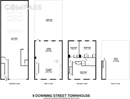 Downing Street Floor Plan Quirky 187 Year Old West Village Carriage House Finally Sells