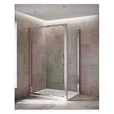 leap 1000mm single sliding shower door