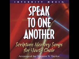 scripture memory songs for youth choir it is to give thanks