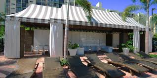 Beach Awnings Canopies Cabanas U0026 Gazebos Miami Awning Shade Solutions Since 1929