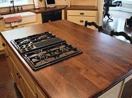kitchen island butcher block top walnut custom wood countertops butcher block countertops