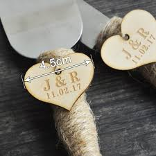Wedding Cake Cutter Online Shop Personalized Rustic Wedding Cake Cutter And Knife