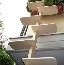 katzenleiter balkon katzentreppe xl katzenleiter natur katzenbaum katzen treppe