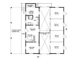 horse barn plans horse barn outbuilding plan 006b 0001 at