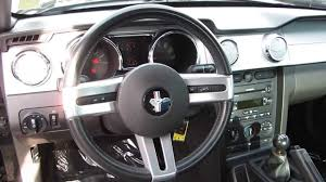 2007 Mustang Gt Black 2007 Ford Mustang Black Stock 6069791 Interior Youtube