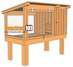 Build Your Own Rabbit Hutch Plans Rabbit Hutch Plans Step By Step Plans Construct101