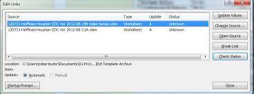 excel 2010 vba workbook breaklink code identifies but fails to