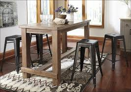 Kitchen  Bar Height Farmhouse Table Indoor Bistro Table Set - Bar height dining table ikea