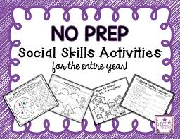 social skill activities festival collections