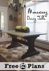 Free Woodworking Plans Dining Room Table by 39 Best Dining Room Diy Plans Images On Pinterest Projects