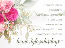 home style saturdays summer parties travel and decor