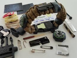 survival rope bracelet kit images Bug out paracord bracelet gearsenal png