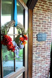 how to hang a wreath without damaging your door less than