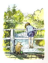 winnie the pooh by eh shepard prints by hometowncreations 10 00