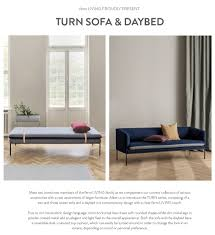 turn sofa u0026 daybed ferm living sit down pinterest sofa