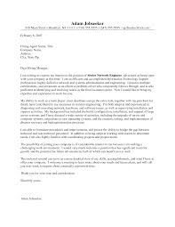Cover Letter Speculative Specific Cover Letter