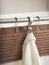 Duo Shower Curtain Rod Polder Duo Shower Rod Shower Rod Tiny Bathrooms And Spaces