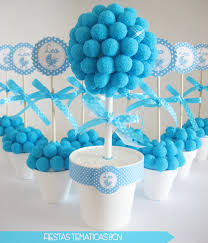 center arrangements for baby shower i think they are cute and