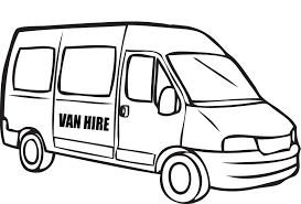 van coloring pages getcoloringpages com