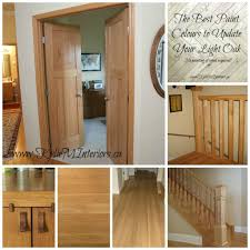 coordinating wood floor with wood cabinets the best paint colours to go with oak or wood trim floor