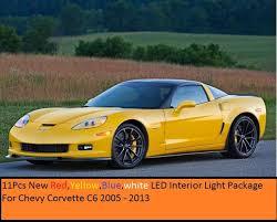 Corvette C6 Interior 2013 C6 Chevy Corvette Led 9pcs Interior Lights Accessories C6