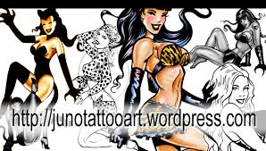 pinup tattoos custom tattoos made to order by juno professional