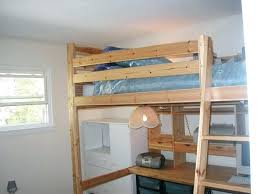 Top Bunk Bed With Desk Underneath Bunk Bed With Desk It Size Of Loft Beds With