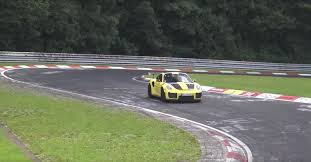 Gt2 Rs 0 60 Bright Yellow Porsche 911 Gt2 Rs Spotted At The U0027ring U2013 And Boy Is